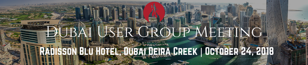 Dubai User Group 2018