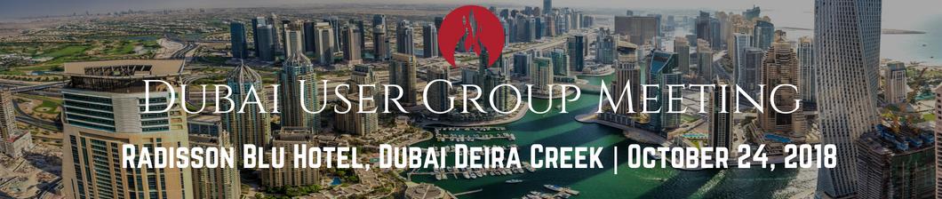 Dubai User Group 2018